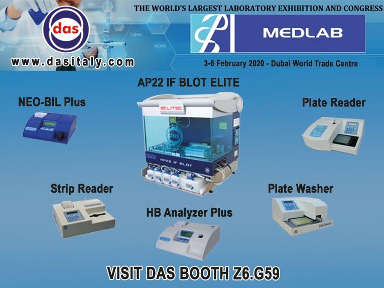 نمایشگاه بین المللی تجهیزات آزمایشگاهی دبی (MEDLAB)